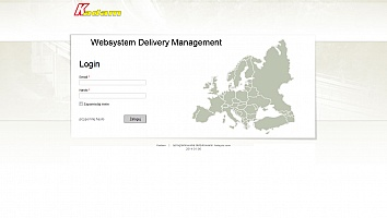 strony www - Websystem Delivery Managment